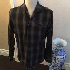 """Deus ex Machina """"Zeus Plaid Shirt"""" (gray)"""